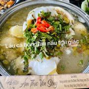 Cá Bông Lau nấu trái Giác