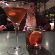 Manhattan and negroni