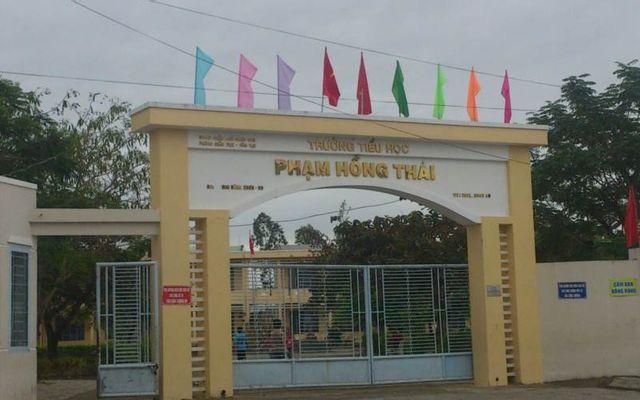 Trường TH Phạm Hồng Thái