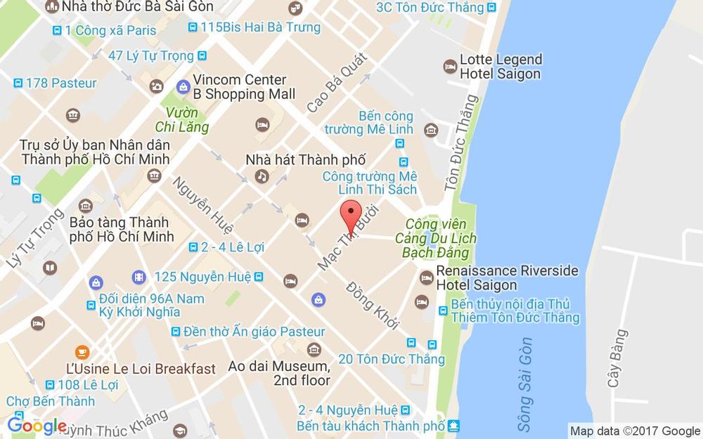 Vị trí bản đồ 35 Mạc Thị Bưởi Quận 1 TP. HCM