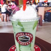 Trà xanh thạch jelly
