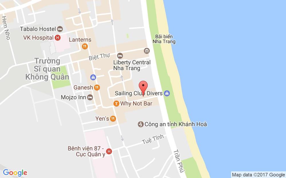 Vị trí bản đồ 4/3 Trần Quang Khải Tp. Nha Trang Khánh Hoà