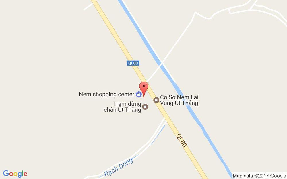 Vị trí bản đồ Quốc Lộ 80, Xã Long Thịnh Lai Vung Đồng Tháp