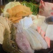 Lẩu hải sản 70k