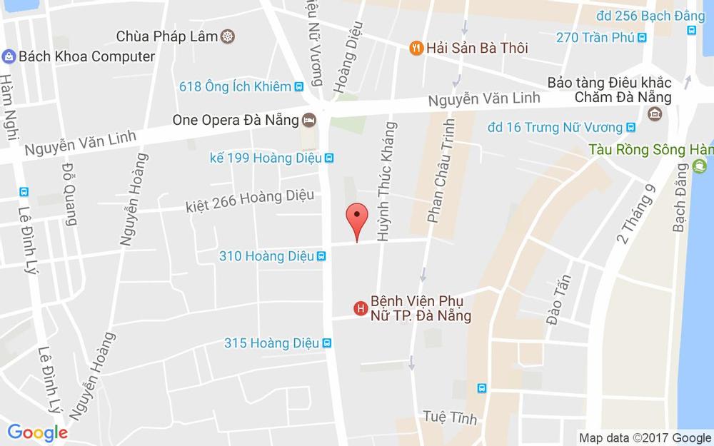 Vị trí bản đồ Xuân Spa - 32 Nguyễn Trường Tộ ở Đà Nẵng