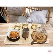 set trà hoa hồng và cookie