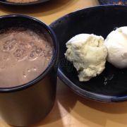Cacao và kem dừa kem bơ