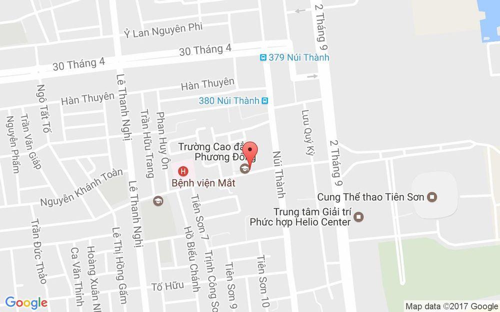 Vị trí bản đồ 30 Phan Đăng Lưu Quận Hải Châu Đà Nẵng