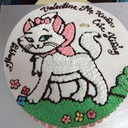 Bánh kem hình con mèo