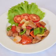 Bò lúc lắc - Stir fried beef with vegetables