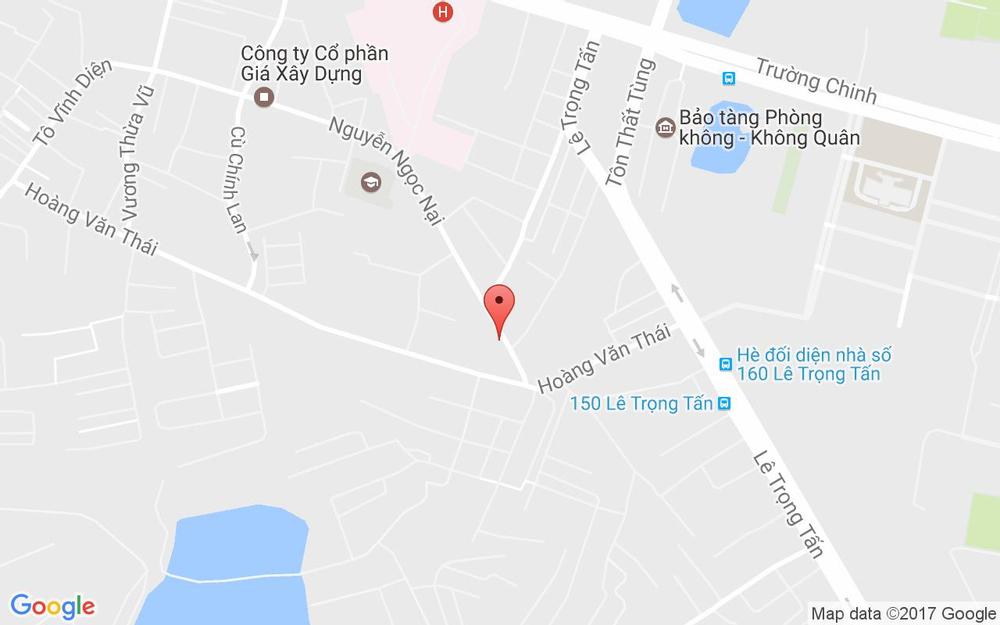 Vị trí bản đồ 216 Nguyễn Ngọc Nại, P. Khương Mai Quận Thanh Xuân Hà Nội