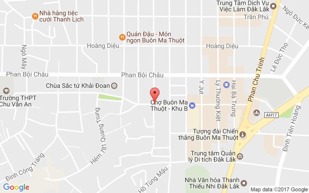 Vị trí bản đồ Azzan Coffee - Cafe Rang Xay ở Đắk Lắk
