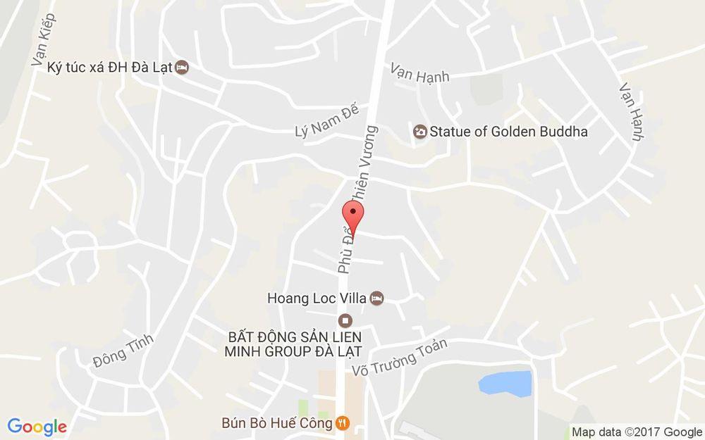 Vị trí bản đồ Home 1988 - Homestay ở Lâm Đồng
