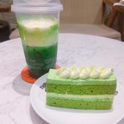 Matcha macchiato, Tiramisu green tea