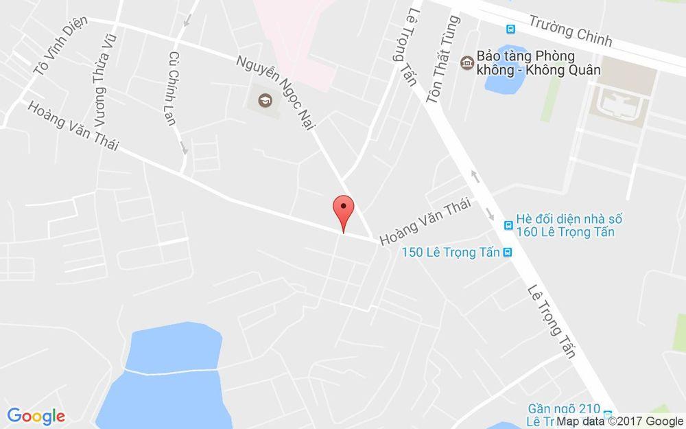 Vị trí bản đồ Vinmart+ - 91 Hoàng Văn Thái ở Hà Nội