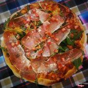 pizza thịt xông khói
