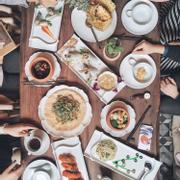 #instameet bữa cơm chay ngon lành giữa lòng Hà Nội