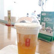 Alisan Gongcha kem sữa ngon mà kem dễ bị tan ghê