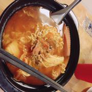 Mì cay kimchi bò cấp độ 1