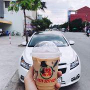 Giao trà Sữa bằng oto