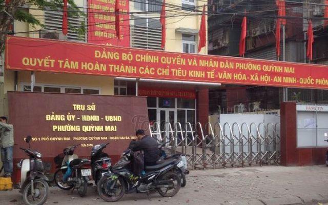 Trụ Sở UBND Phường Quỳnh Mai