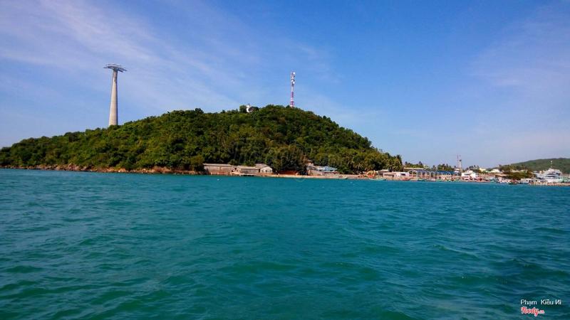 Một phần cảng An Thới