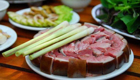 Món thịt dê Ba Cửa hấp dẫn du khách
