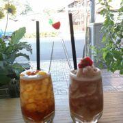 Trà dâu và trà đào