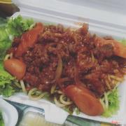 Mỳ ý sốt spaghetti thịt bò bằm 30k