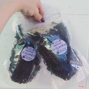 Rong biển sấy lắc muối tôm chà bông và lắc phô mai 35k/ túi
