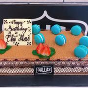 Bánh vị cafe ý cũng rất ngon nhé ! Mình chọn trang trí đơn giản thôi, nhưng nhìn rất sang và đẹp mắt nhé!