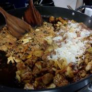 Set gà bắp cải + phô mai + cơm chiên