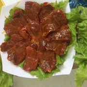 Món nướng: Gáy bò sốt ngũ vị