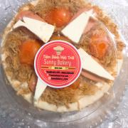 Bánh bông lan trứng muối phô mai của Sunny Bakery loại 14cm chỉ 95k