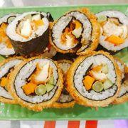 Combo sushi gà