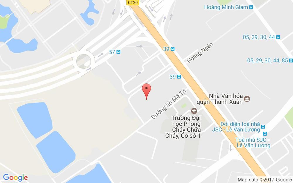 Vị trí bản đồ Chung Cư Vinaconex 1, 289A Khuất Duy Tiến Quận Thanh Xuân Hà Nội