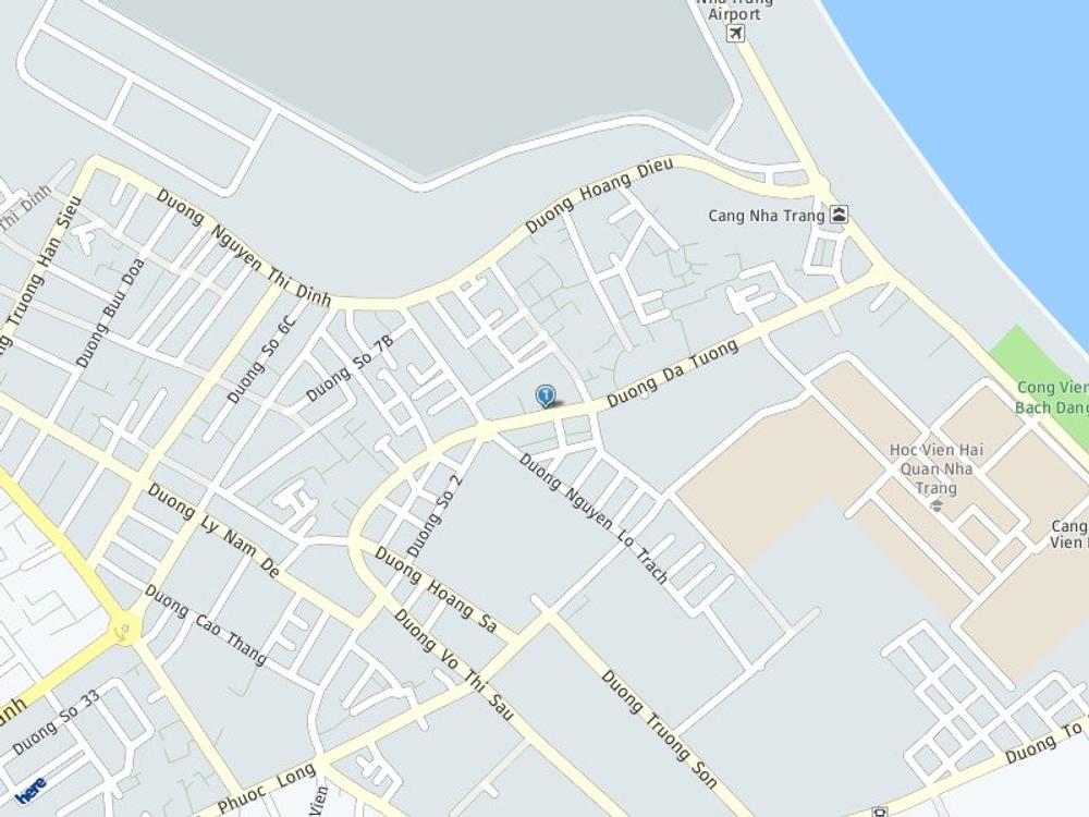 Vị trí bản đồ 108 Dã Tượng Tp. Nha Trang Khánh Hoà