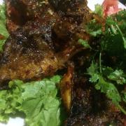 Cá mao ếch nướng