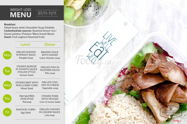 Saigon Kitchen Club - Món Ăn Giảm Cân ở TP. HCM | Album tổng hợp ...