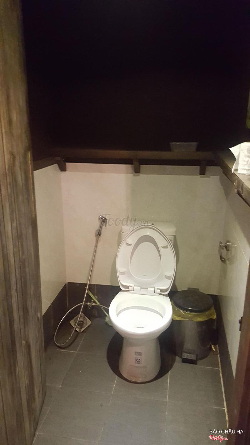 WC sạch sẽ