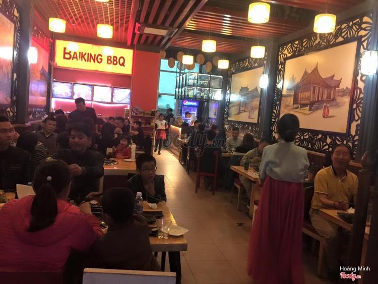 BAIKING BBQ - Nướng & Lẩu Không Khói Hàn Quốc ở Bắc Giang