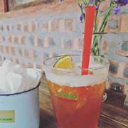 Món trà cam quế khá ngon, như hơi bị ngọt. Lần đầu mình uống ở đây và sẽ còn quay lại 😊