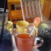 Soda việt quất, trà vải, cafe