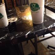 Trà đào với trà sữa phúc long