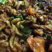 Vịt nướng Hàn Quốc