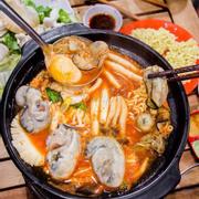 lẩu hào kimchi