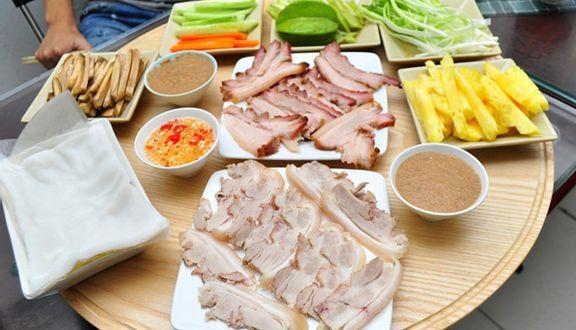 Khuê Trung Quán - Bánh Tráng Cuốn Thịt Heo