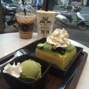 Greentea greenia toast