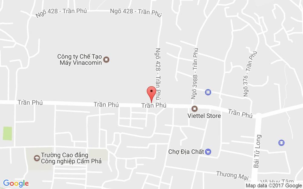 Vị trí bản đồ 467 Trần Phú, P. Cẩm Thủy Tp. Cẩm Phả Quảng Ninh