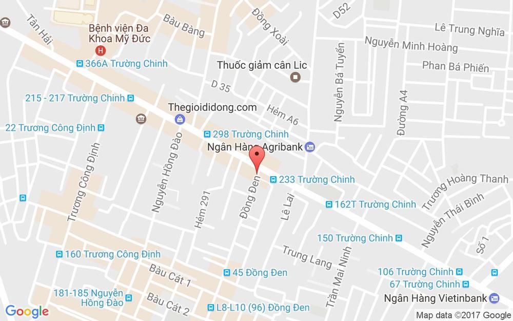 Vị trí bản đồ 76 Đồng Đen  Quận Tân Bình TP. HCM